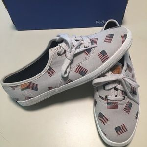 NIB American Flag Keds Sneakers 4th of July Shoes